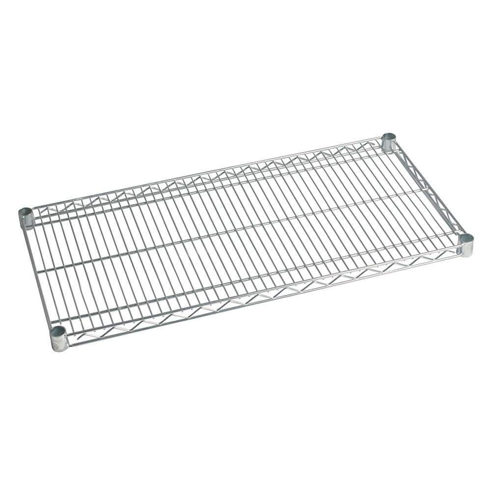 Focus FF2472C Chrome Plated Shelving, 24 in D x 72 in W