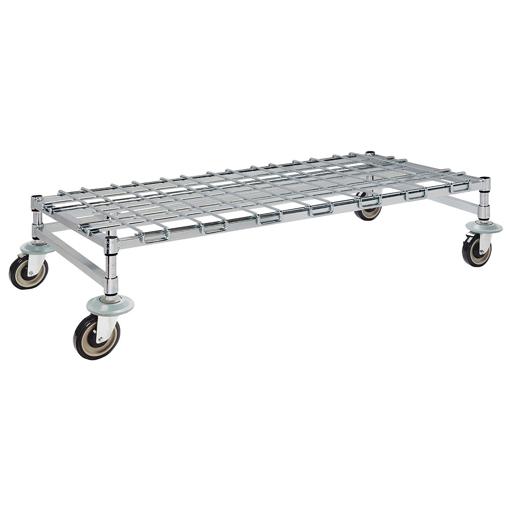 "Focus FFMDR1860CH 60"" Mobile Dunnage Rack w/ 800-lb Capacity, Wire"