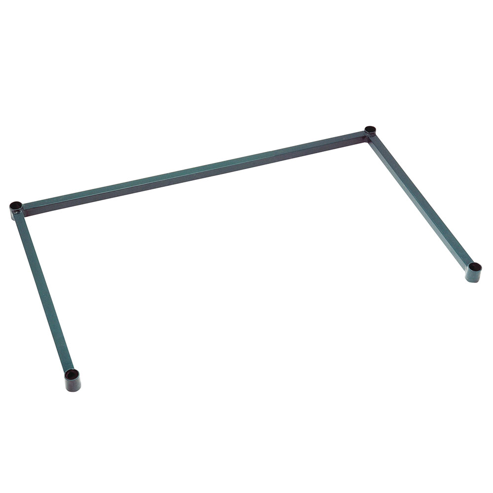 "Focus FFSF1860GN 3-Sided Tubular Frame - 18"" x 60"", Green"