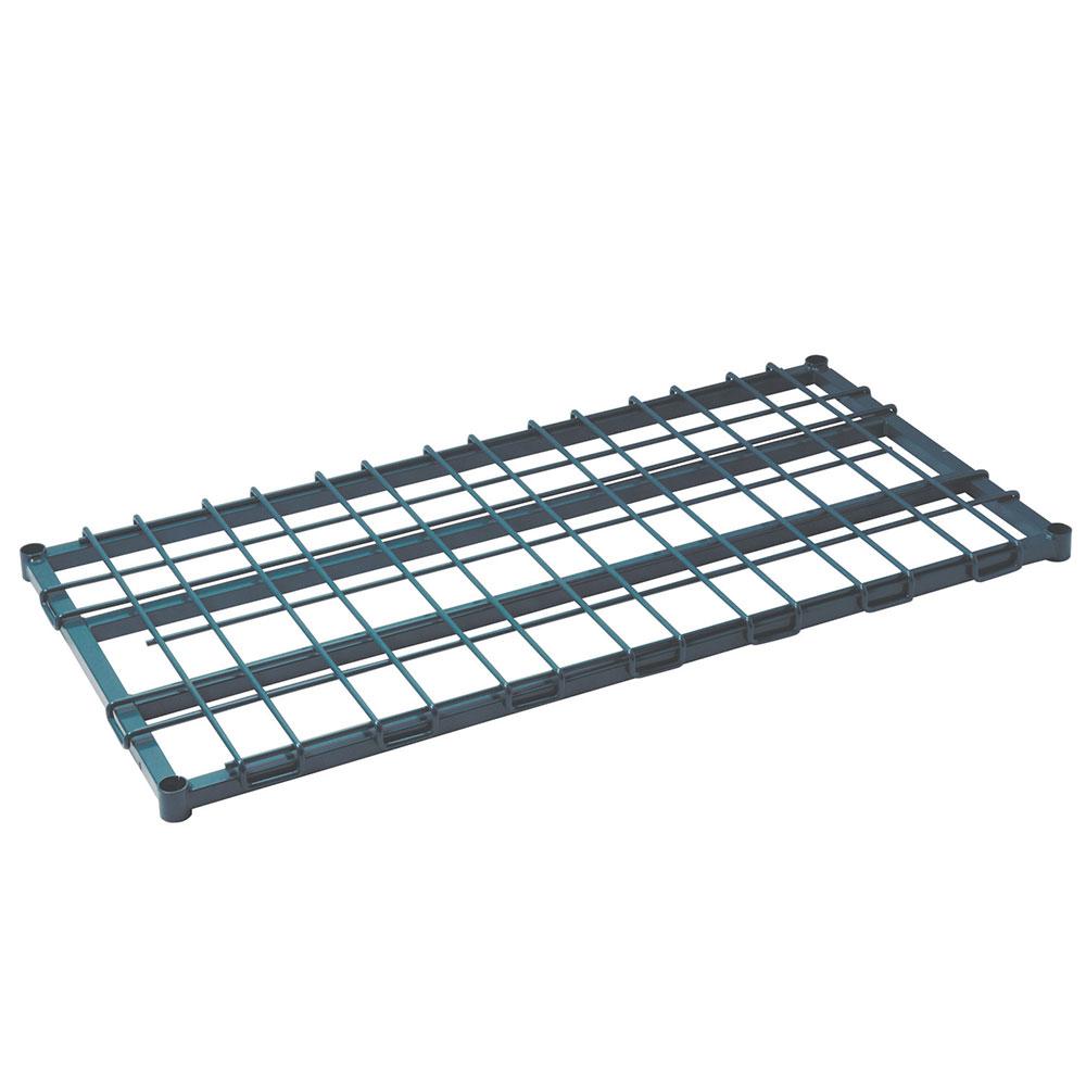 Focus Foodservice FFSM1860GN Dunnage Shelf 18in W x 60in L Heavy Duty Green Epoxy Restaurant Supply