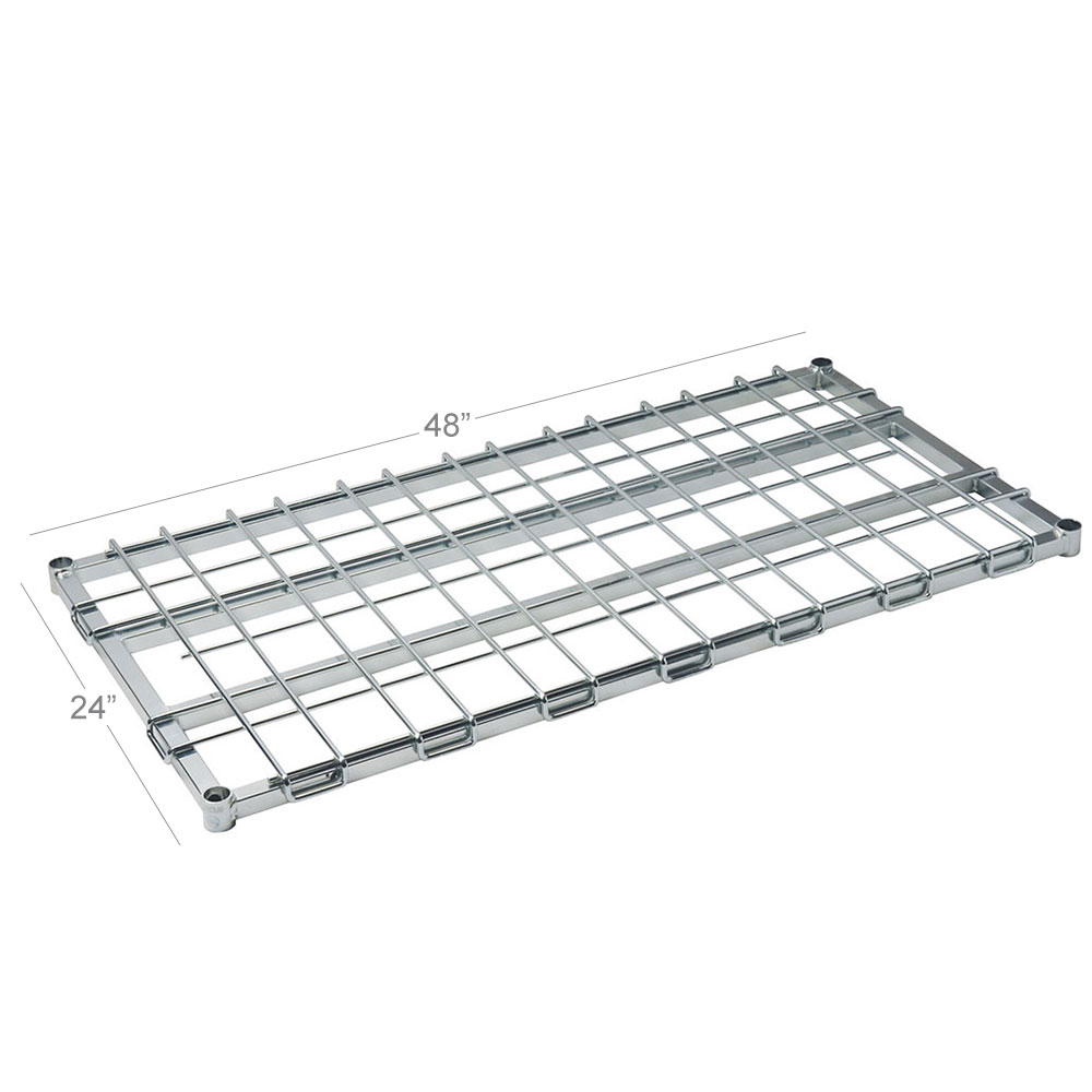 """Focus FFSM2448CH 24"""" Stationary Dunnage Rack w/ 1600-lb Capacity, Wire"""