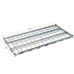 "Focus FFSM2460CH 60"" Stationary Dunnage Rack w/ 1000-lb Capacity, Wire"