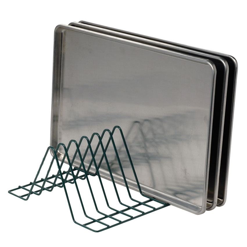 Focus Foodservice FFTM188GN Tray Module Wire 1-3/4 in Clearance 15-1/2 x 16-1/2 in x 8 H 8 Tray Capacity Restaurant Supply