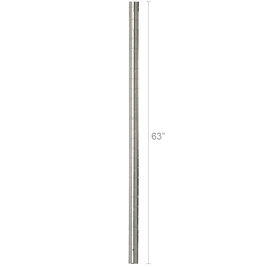 """Focus FG063SS 63"""" Stainless Post"""