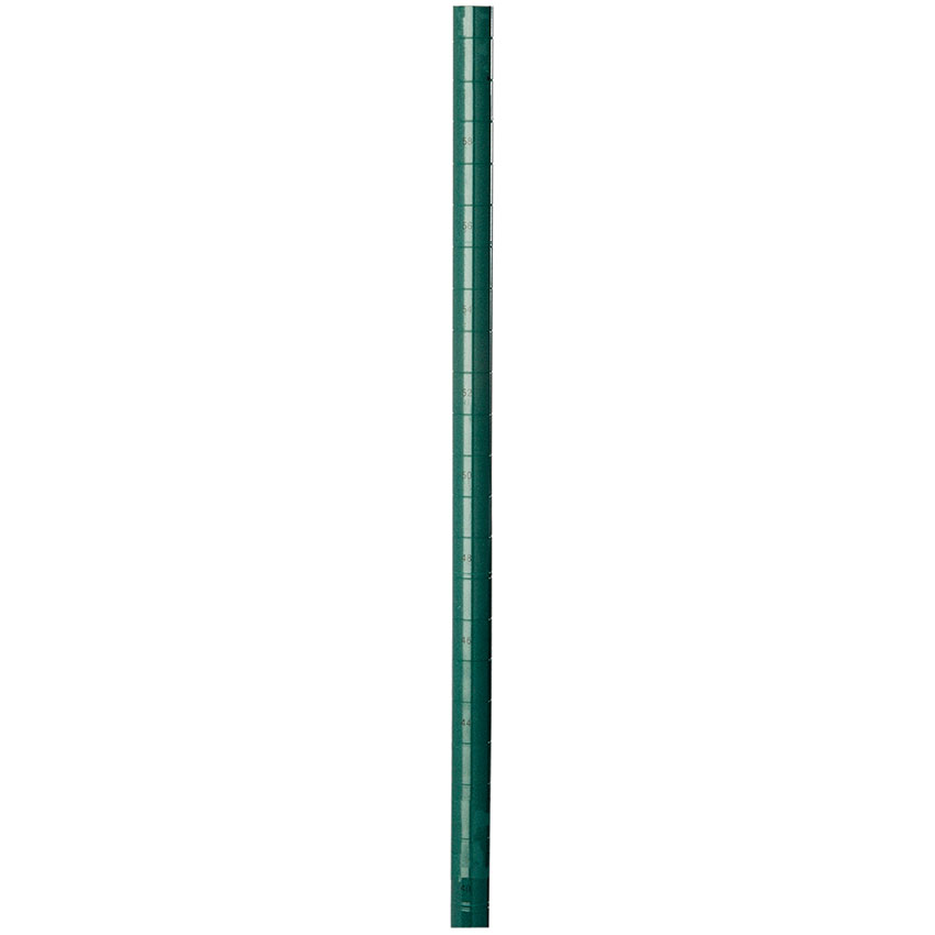 Focus FG074G Green Epoxy Coated Posts, 74 in H, Stationary