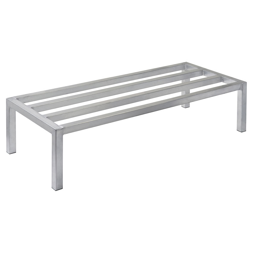 Focus FHADR48188 Heavy Duty Dunnage Rack, 4 Support Bars, Welded Seams, 48 x 18 x 8 in