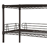 "Focus FL144BK Shelf Ledge - 14"" x 4"", Black"