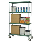 Focus FMPS1836694 Epoxy Coated Wire Shelving Unit w/ (4) Levels, 18x36x63""