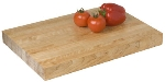Focus 8939 Butcher Block Cutting Board, 18 x 12 x 1-3/4-in