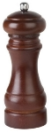 Focus 8959 Spring-Loaded Adjustable Grinds Pepper Mill, Walnut Finish, 4-1/2 in