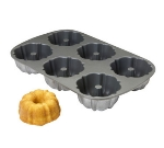"""Focus 905006 Muffin Pan, 2 Rows Of 3, Makes (6) 4"""" Muffins"""