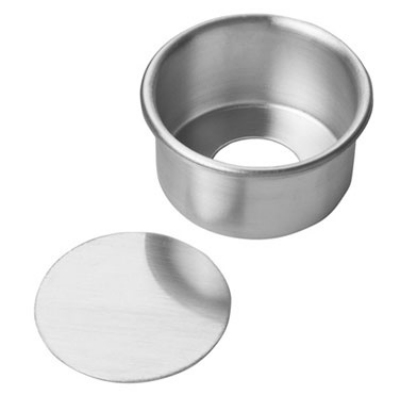 Focus 90ACC32 Rolled Edge Cheesecake Pan, Removable Bottom, Aluminum, 3 x 2 in