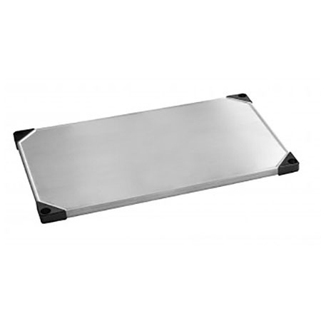 Focus FF2460SSS Solid Stainless Shelf, 24 x 60-in
