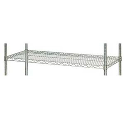 Focus FF2472WRSS Stainless Wire Shelf - 24x72""