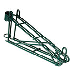 "Focus FPMB14DGN 14"" Wire Wall Mounted Shelving Brackets"