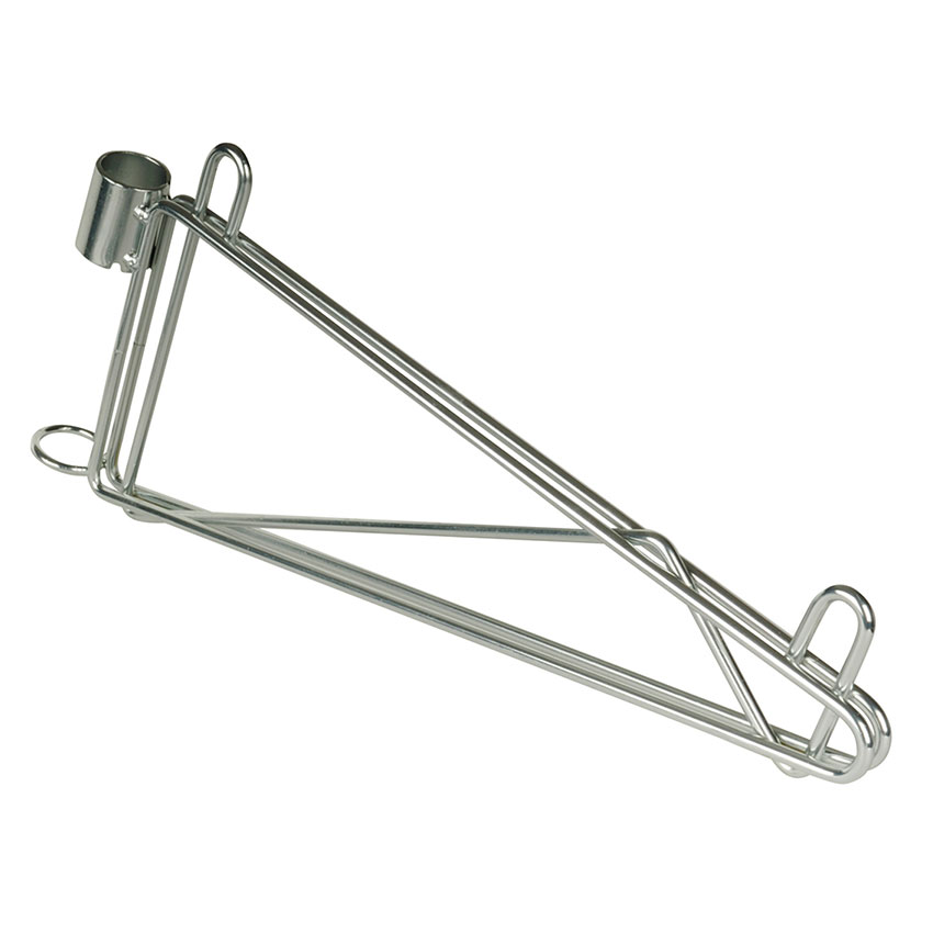 "Focus FPMB14SCH 14"" Wire Wall Mounted Shelving Brackets"