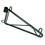 "Focus FPMB14SGN 14"" Wire Wall Mounted Shelving Brackets"