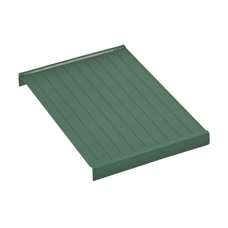 """Focus FPS1812SOPMGN FPS Plus Replacement Middle Panel, Solid, SaniGard Green, 18 x 12"""""""