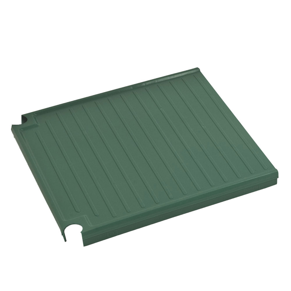 Focus FPS1818SOPEGN FPS Plus Replacement End Panel, Solid, SaniGard Green, 18 x 18""