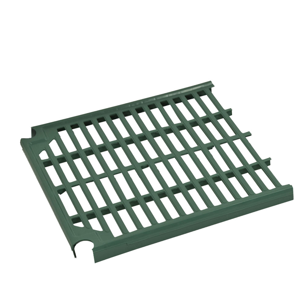 Focus FPS2112VPEGN FPS Plus Replacement End Panel, Vented, SaniGard Green, 21 x 12""