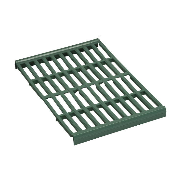 Focus FPS2412VPMGN FPS Plus Replacement Middle Panel, Vented, SaniGard Green, 24 x 12""