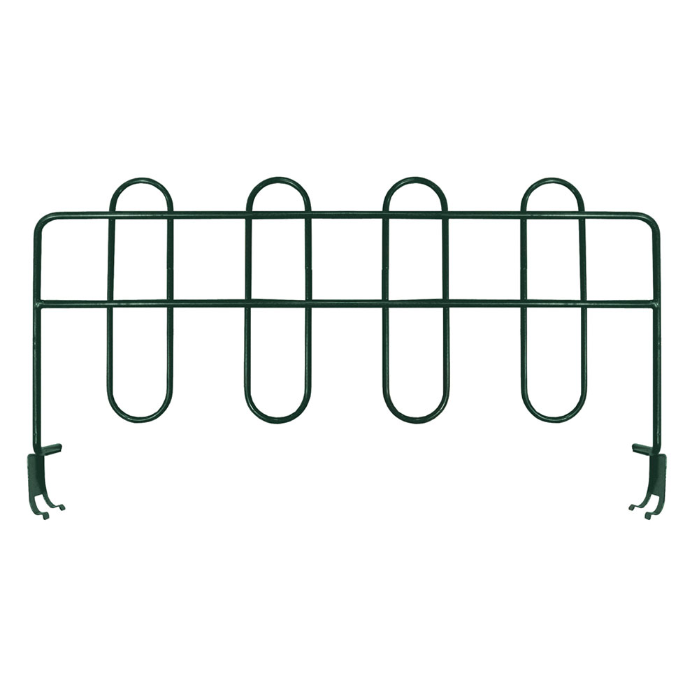 Focus FSD248FPS Shelving Divider, Green Epoxy, 24 x 8-in