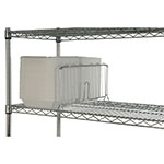 "Focus FSD18C Shelf Divider, Chrome, 18""W x 8""H"