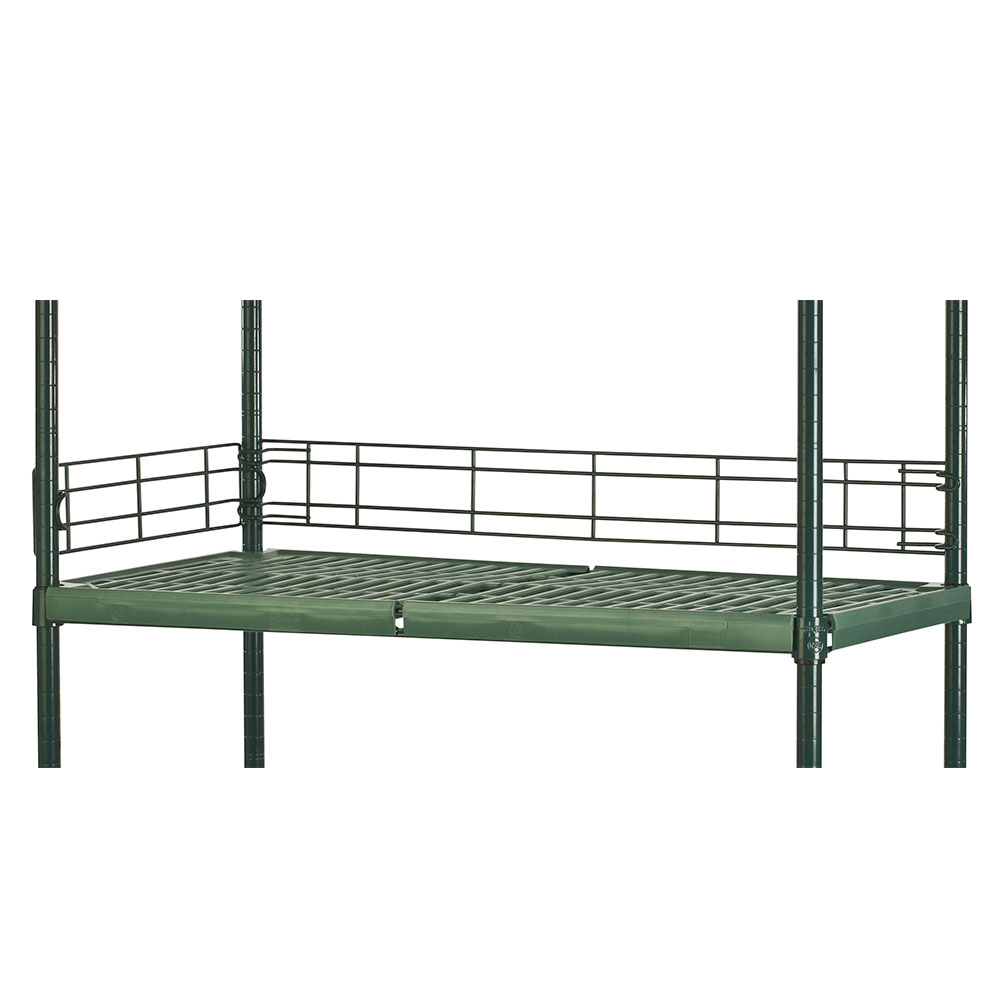 Focus FSL244FPS Shelving Ledge, Green Epoxy, 24 x 4-in