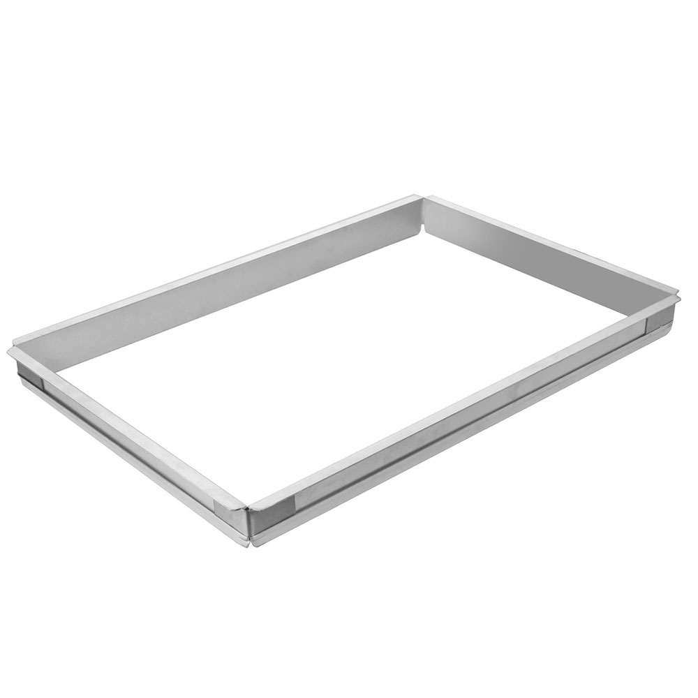 Focus FSPA1116 2 in Half Size Sheet Pan Extender/Adapter, Stainless Corners