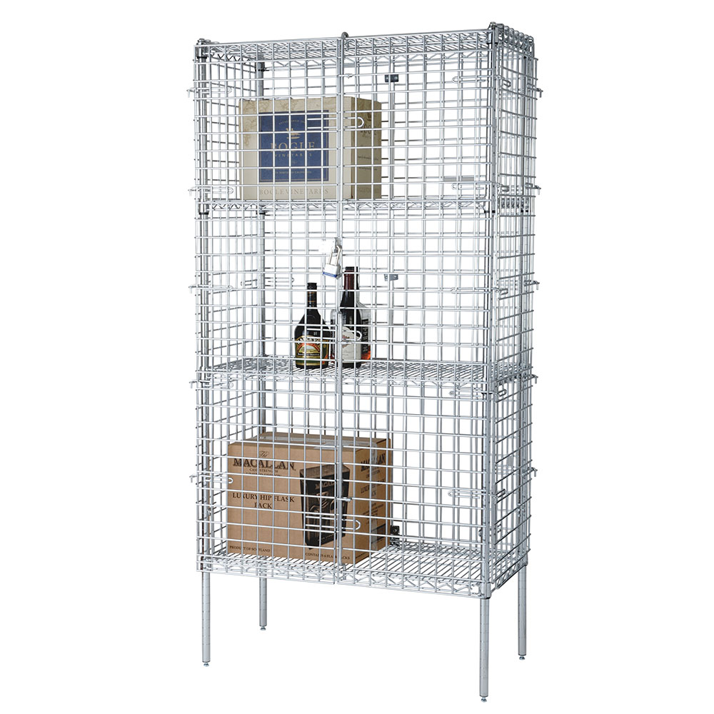 "Focus FSSEC2448 48"" Stationary Security Cage, 24""D"