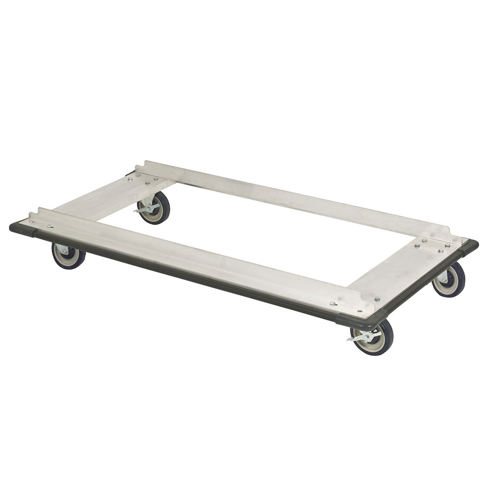 "Focus FTDA2448 Truck Dolly w/ Casters for 24 x 48"" Shelf Sizes, Aluminum, NSF"