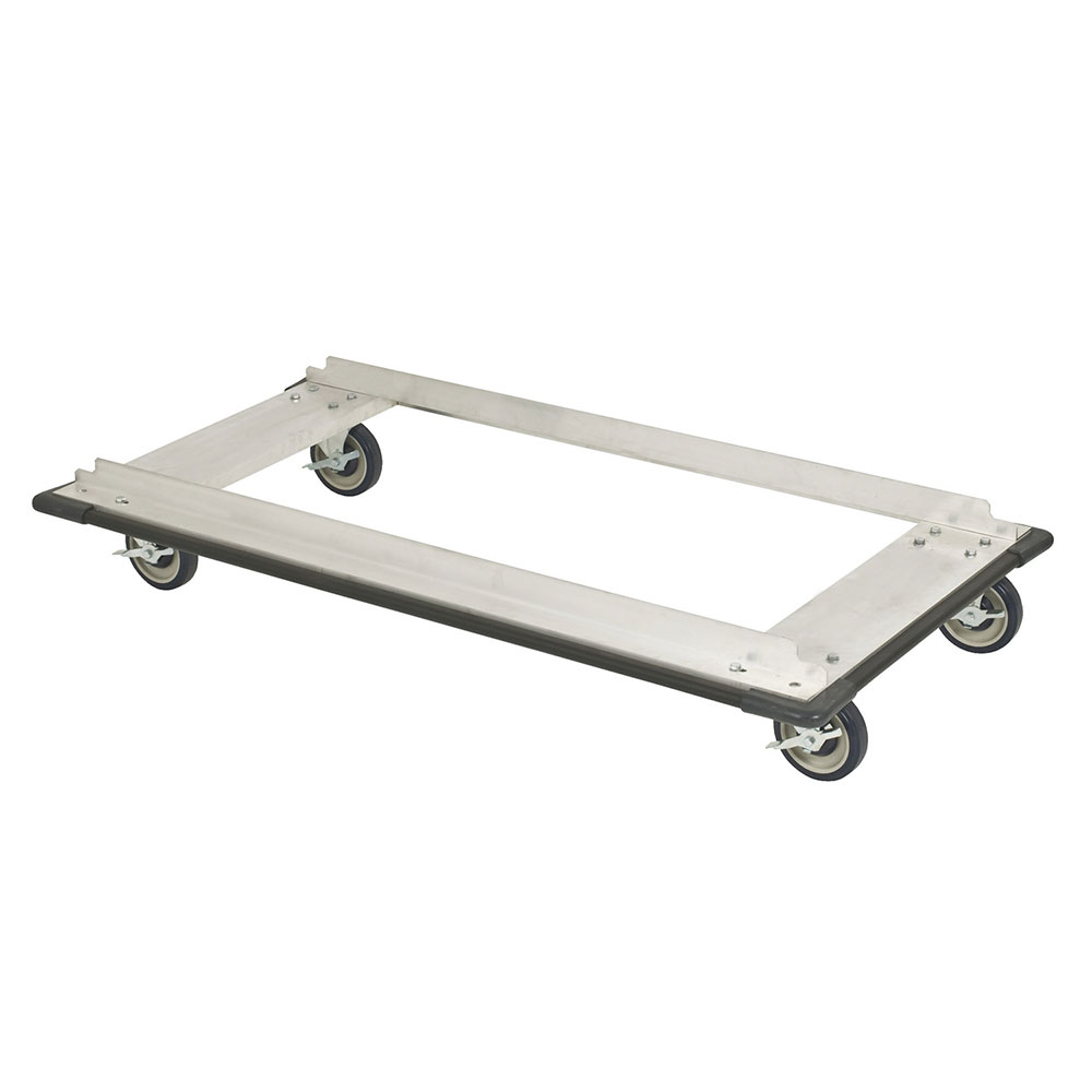 "Focus FTDA2460 Truck Dolly w/ Casters for 24 x 60"" Shelf Sizes, Aluminum, NSF"