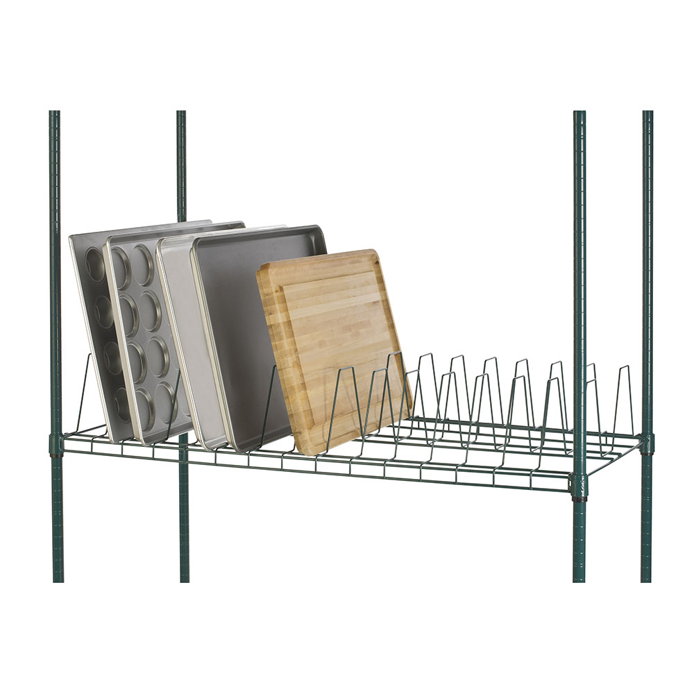 Focus FTS2448815GN 1-Level Stationary Drying Rack for Trays
