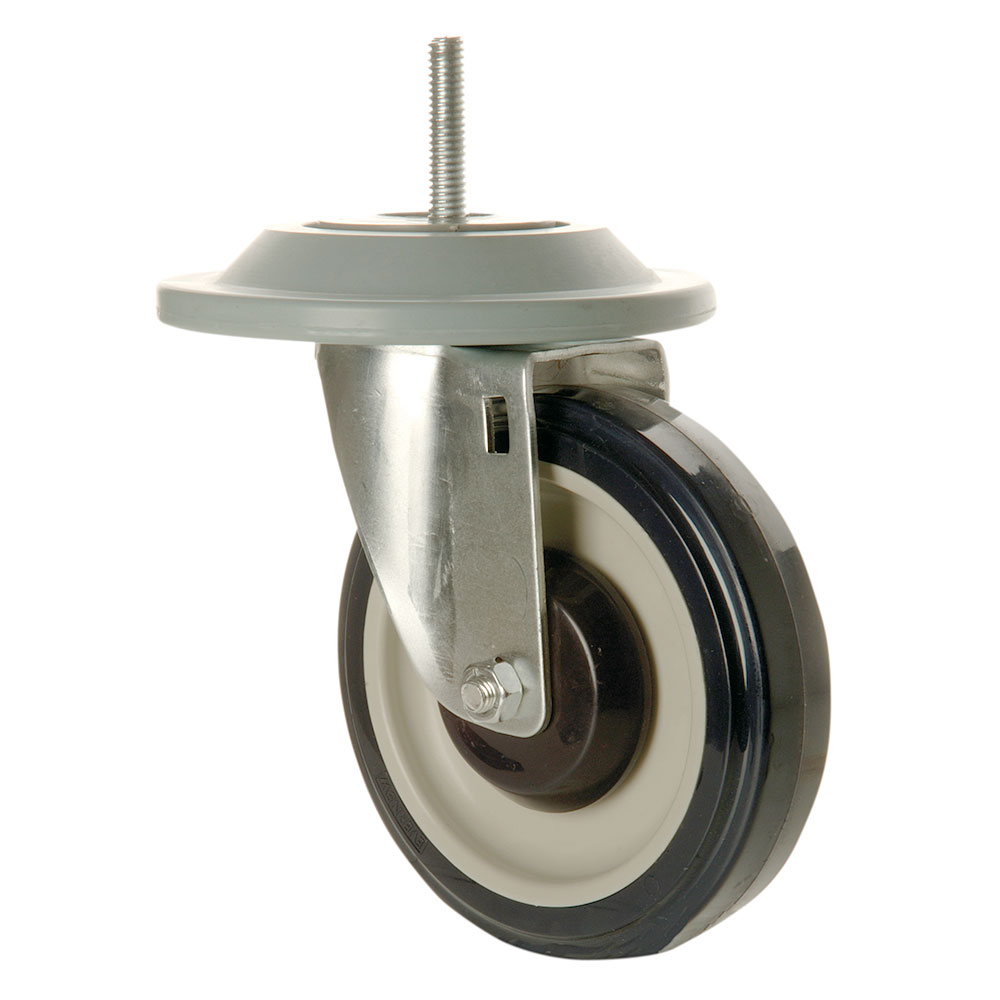"Focus FTSC6 6"" Casters, With Bumpers, Set Of 4"