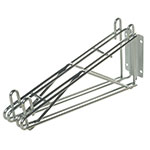 "Focus FWB12DCH 12"" Wire Wall Mounted Shelving Bracket"