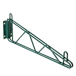 "Focus FWB12SGN Direct Mount Wall Bracket, 12"" Single , Green Epoxy"