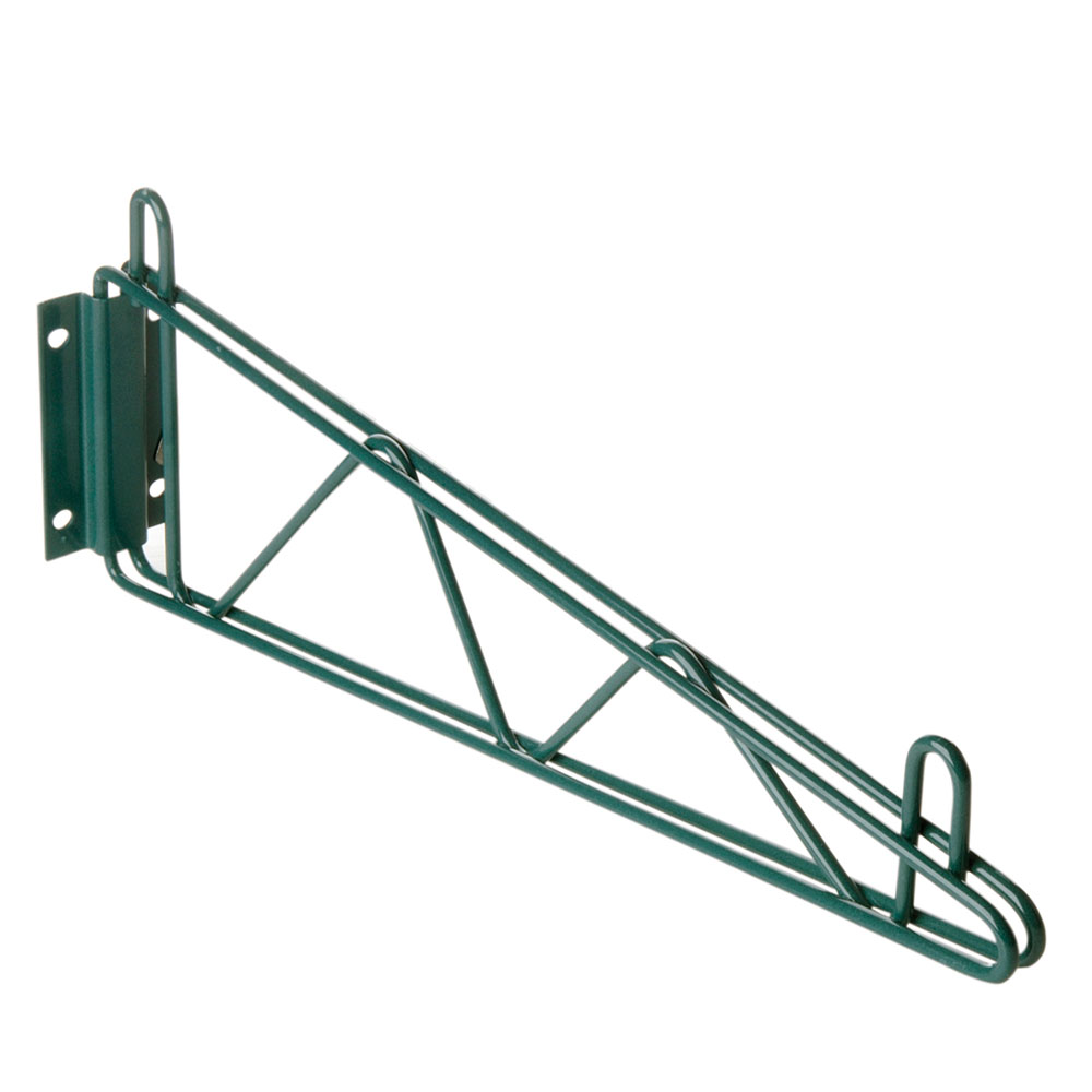 Focus FWB18SG Wall Bracket, 18 in, Green Epoxy Coated, Single