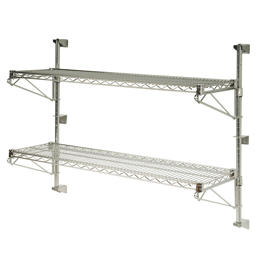 """Focus FWPS54CH 54""""H Wall Mounted Shelving Post w/ Mounting Hardware"""