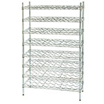 Focus FWSK3663CH Chromate Wine Shelving Rack, Holds 90-Bottles