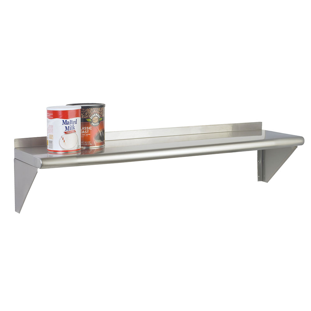 """Focus FWSSS1260 60"""" Solid Wall Mounted Shelving"""