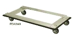 Focus FTDA2436 Truck Dolly w/ Casters For 24 x 36-in Shelf Sizes, Aluminum, NSF