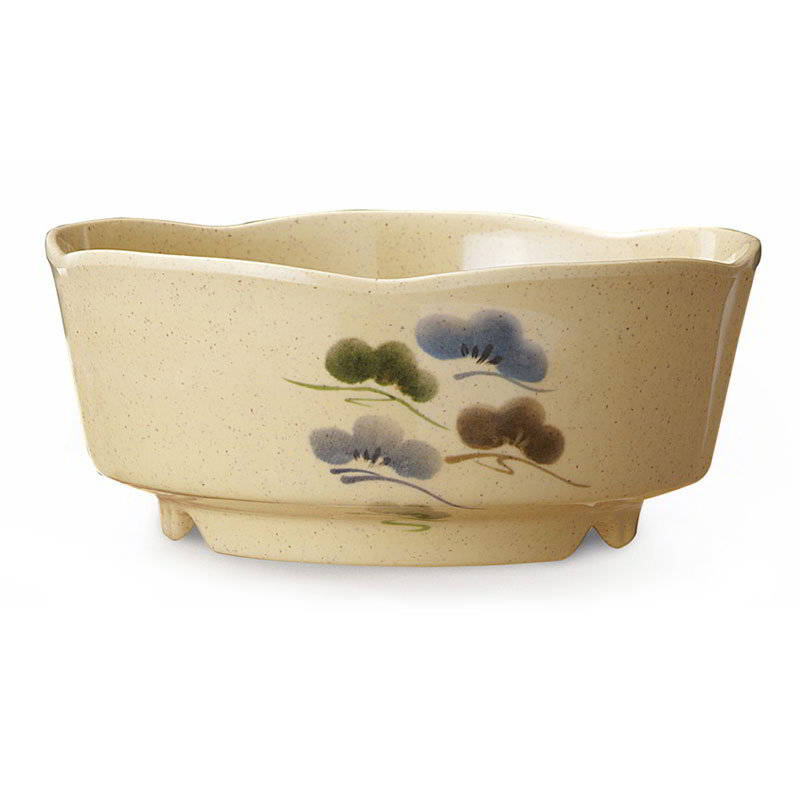 "GET 0163-TK 5.25"" Plastic Bowl, Japanese Tokyo"