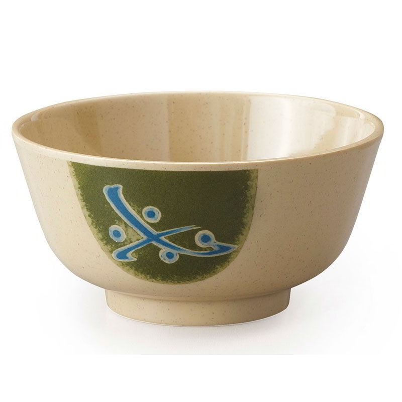 GET 0172-TD Soup/Rice Bowl, Melamine, Japanese Traditional