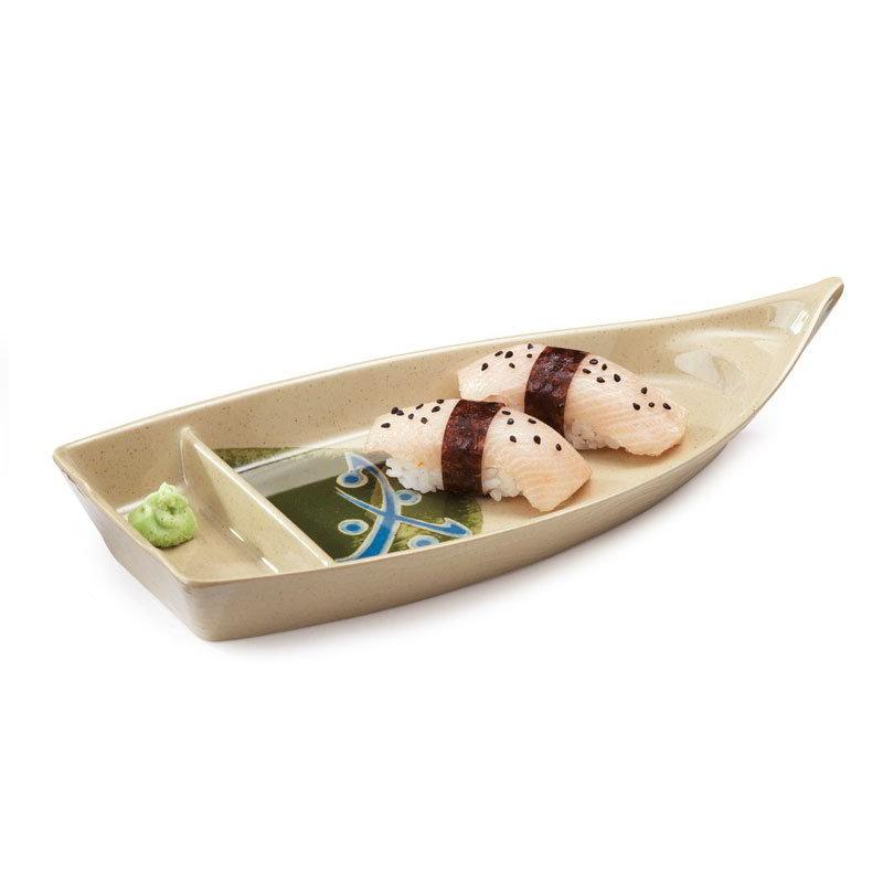 GET 136-TD Boat Plate, Melamine, Japanese Traditional