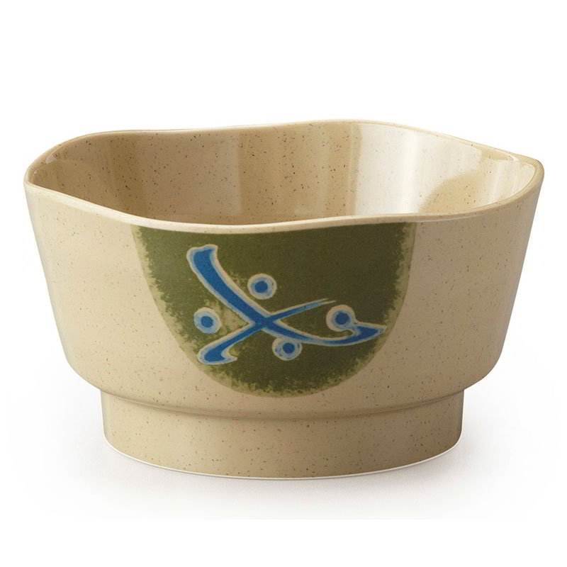 GET 150-1-TD 8-oz Soup/Rice Bowl, Melamine, Japanese Traditional