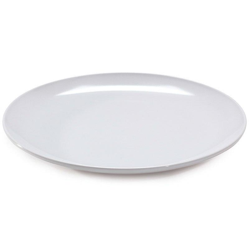 """Get 207-5-W Japanese Plate, 10-1/2""""Round, Melamine, White"""