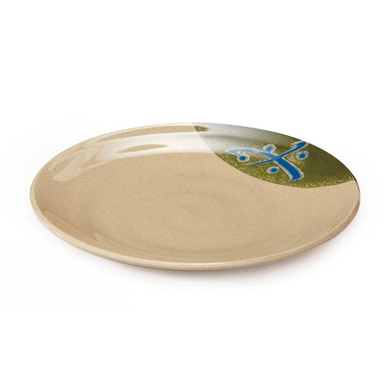 "GET 207-70-TD 7""Plate, Melamine, Japanese Traditional"