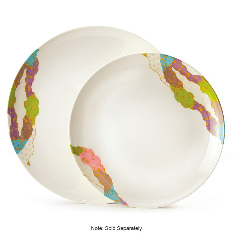 "GET 208-5-CO 12""Plate, Melamine, Japanese Contemporary"