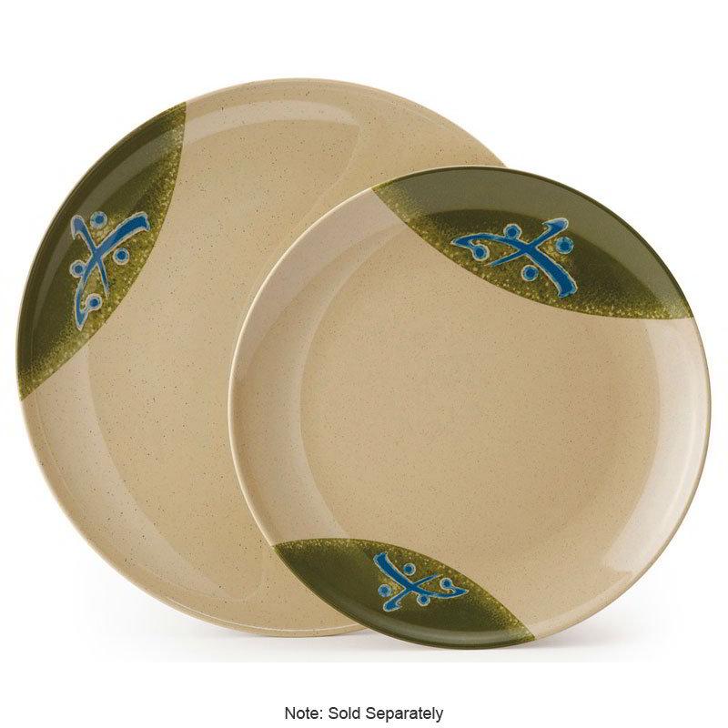 "GET 208-5-TD 12""Plate, Melamine, Japanese Traditional"