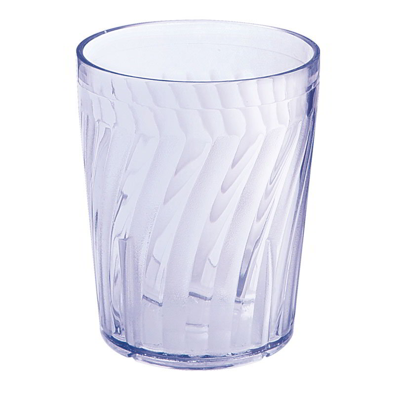 "Get 2206-1-BL 6-oz Healthcare Plastic Tumbler, 3-1/4""Tall, Blue"